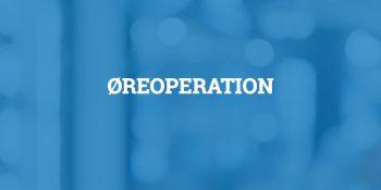 Øreoperation